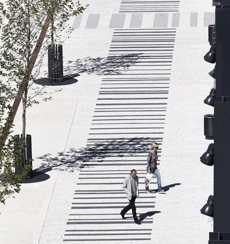 barcode paving pattern - Google Search                                                                                                                                                     More