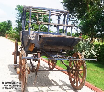 Meet the newly arrived member of the museum family- A six horse stagecoach from Agra of the early 20th century! Soon, the coach will be restored for visitors to witness it in the museum!  #coach #agra #museum #20thcentury #heritage #transport #vintage #transportation