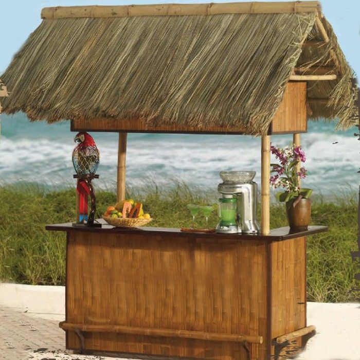 Lovely Tiki Bar Sets Patio