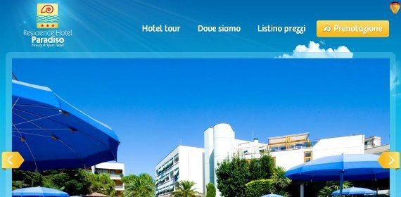 Beautiful Italian site with a few language options: Hotel Paradiso http://www.hotelparadiso.it/