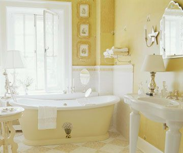 Choose a Light Color: Soft, light colors make any space feel more open and airy so they are perfect for a small bath. Pair colors with crisp white or other tones in the same color family for a clean and restful palette.