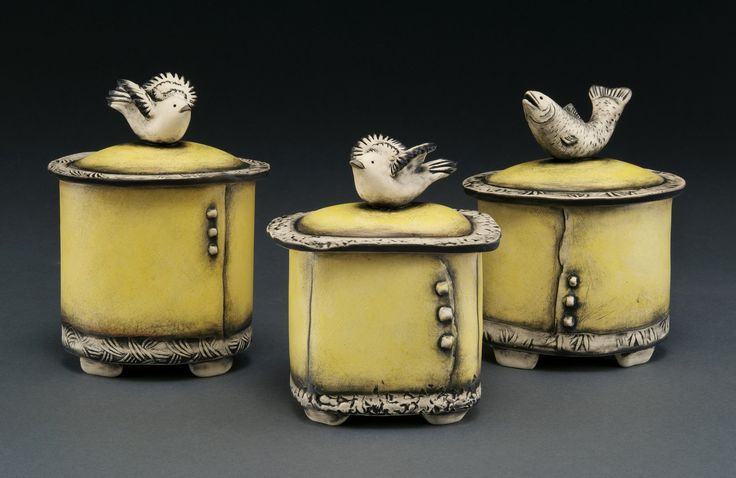 Gallery of nature inspired clay sculptures and ceramic art by Babette Harvey