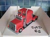 Image result for Semi Truck Cake