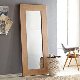 DIY west elm floor mirror. Good DIY website $20 for a HUGE mirror
