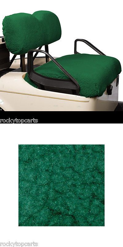 Push-Pull Golf Cart Add-ons 72671: Yamaha Golf Cart Green Sheepskin 2 Piece Seat Cover Set Fits G29 Drive -> BUY IT NOW ONLY: $45.99 on eBay!