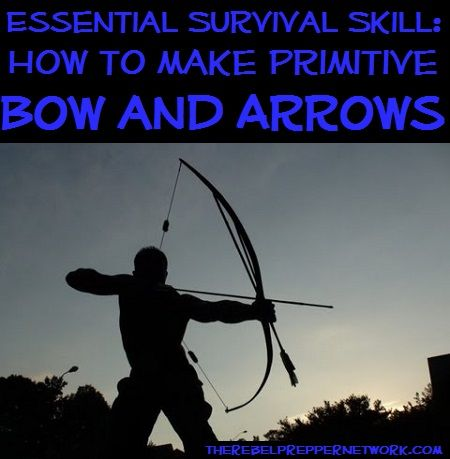 Essential Survival Skill: How to make Primitive Bow and Arrows
