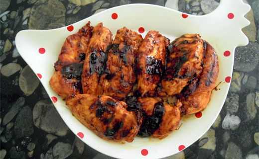 Poulet Teriyaki super simple de Sylvie