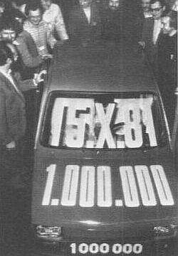 """15 października 1981 z taśmy schodzi milionowy """"Maluch"""""""