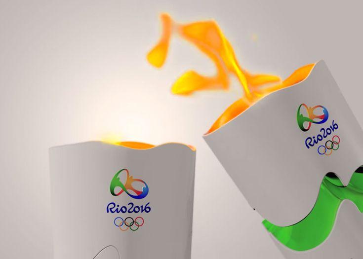 Torch for Rio 2016 Olympic Games – Fubiz Media