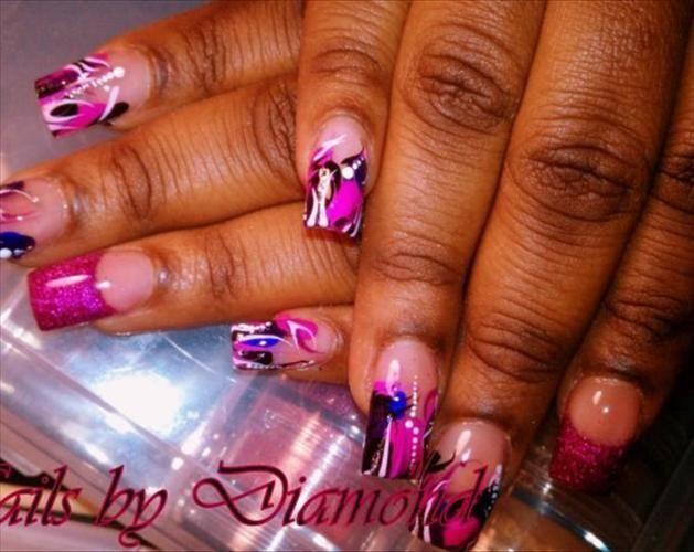 nail designs | acrylic nail designs acrylic nail kits acrylic nail paint acrylic nail  Nail Ideas | Nail acrylic nail kits