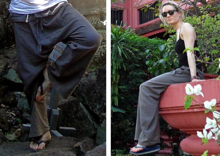 comfortabele kleding tijdens reizen!