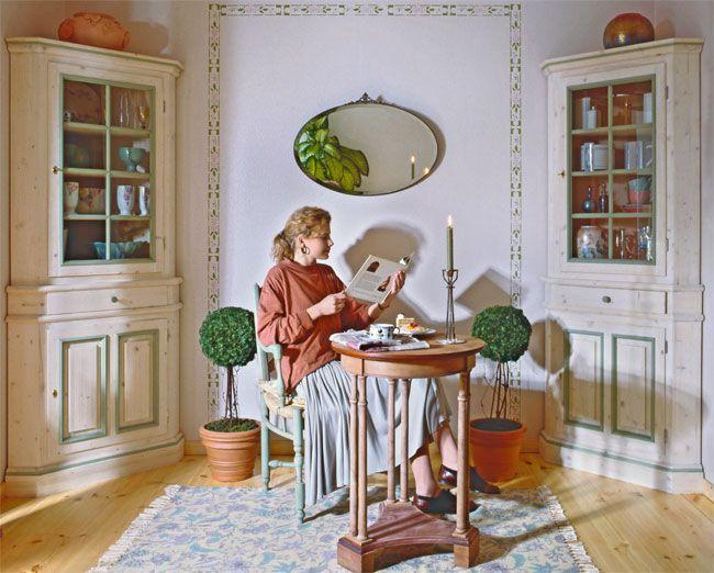 Pi di 25 fantastiche idee su mobili angolari su pinterest for Mensole stile provenzale