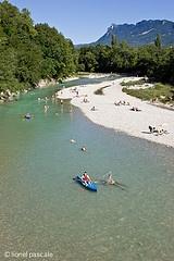 La Drôme - Mirabel-et-Blacons http://www.eau-pure-drome.com/, Gervanne camping ah
