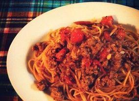 まるめないミートボールスパゲティ|レシピブログ