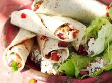 Wrap met gekruid vegagehakt, rijst en bonen - Recept - Allerhande - Albert Heijn