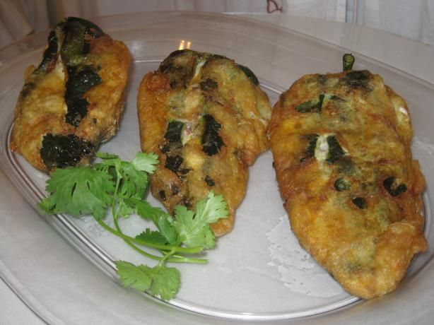 Chiles Poblanos Rellenos a La Mejicana (Mexican Stuffed Poblano . Photo by Chef Sarita in Austin Texas