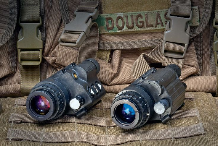 ATN Thermal Imager | The Odin (left) is the same size, shape and weight as the AN/PVS-14 (right) | American COP Tech | Click here: http://americancopmagazine.com/the-odin-from-atn/ | #thermal #imager #tech #american #cop