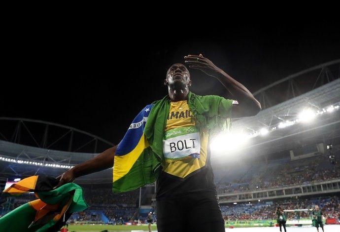 Usain Bolt ouro final 200m Olimpíada Rio 2016 (Foto: Getty Images)