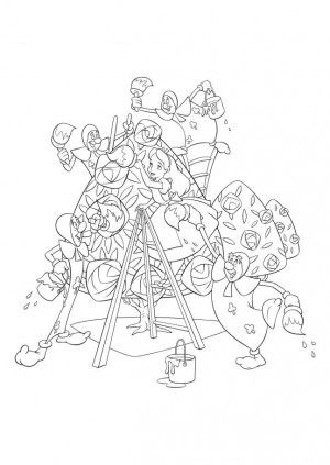 39 best Alice in wonderland coloring book images on Pinterest ...