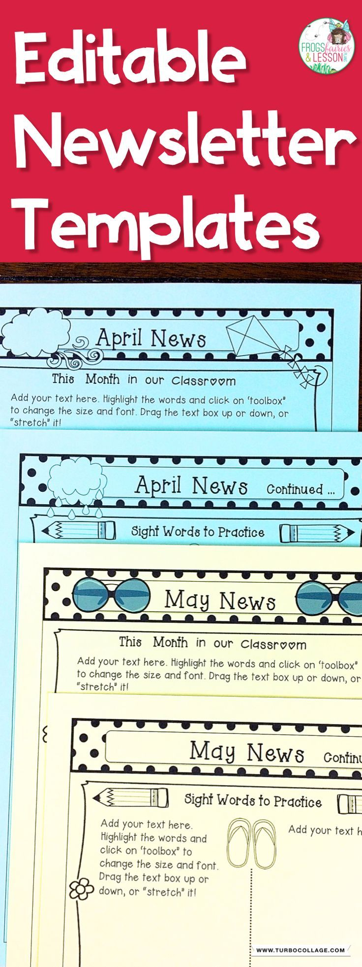 blank newsletter templates for teachers calendar