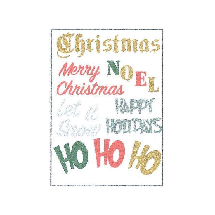 Little B Cutting Dies Christmas Phrases 10pc