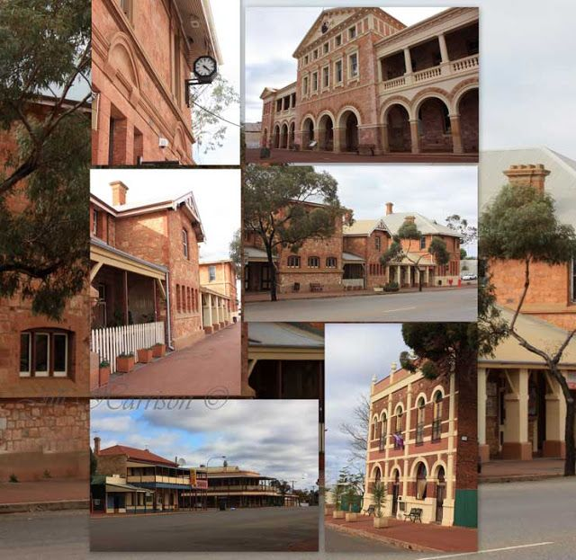 Coolgardie a part of the Goldfields history of Western Australia . Visit Jill Harrison's blog to read some background to this area and to see more great photos.