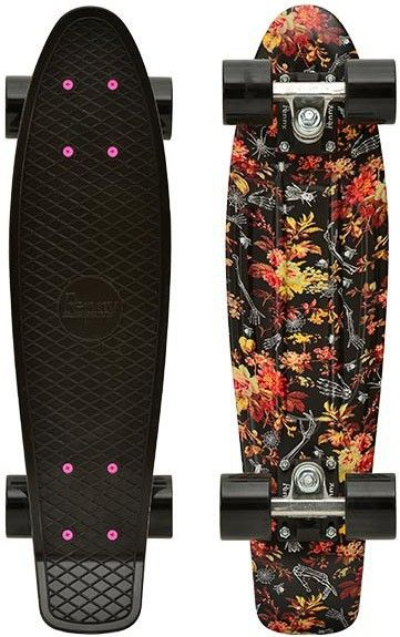 Penny Skateboard - Floral omg I love this one I'm gonna ask my dad if I can order it on amazon