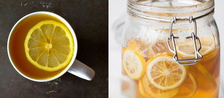 """Oczyszczająca """"herbatka"""", którą warto pić każdego ranka"""