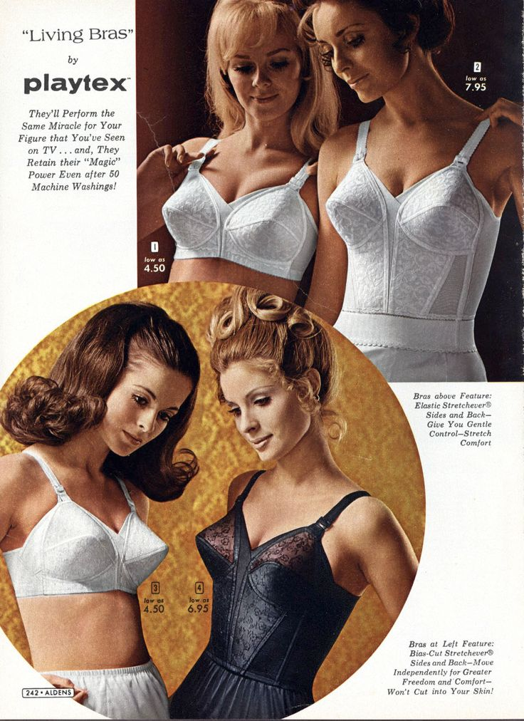 Bras made from pantyhose