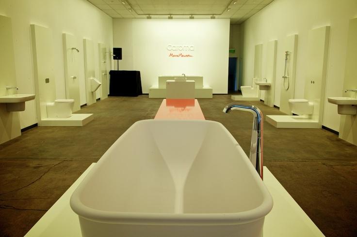 #caroma #marcnewson  The Caroma & Marc Newson bathroom range gallery event
