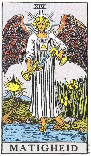 tarotkaart Matigheid