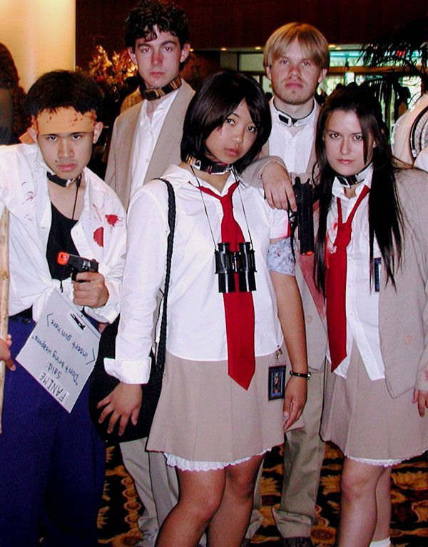 FREE PRIZES to anyone that shows up in Battle Royale cosplay to the 15th Anniversary Screening of Battle Royale at Movies of Lake Worth on Wednesday, April 22nd at 7PM!  Don't miss a rare chance to see the Japanese classic Battle Royale on the big screen, reserve your tickets now! Tell your friends! https://www.tugg.com/events/14749