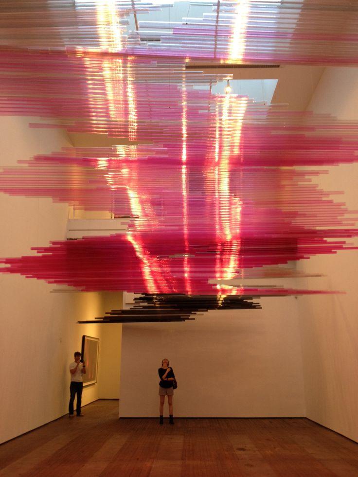 Teresita Fernandez, 'Untitled,' polycarbonate tubing, dimensions variable, 2012.