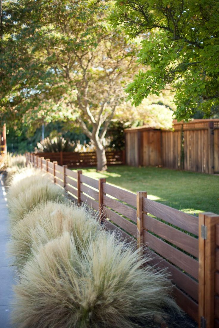 Garden Wooden Fence Designs backyard privacy ideas See Creative Spins On The Classic Wooden Fence That Fit Any Garden Style With Ideas From