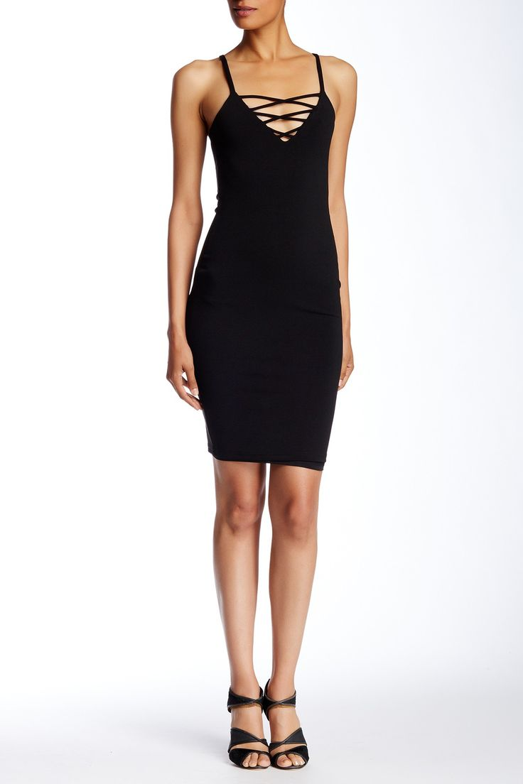 Cities in Dust Lace Up Dress by Few Moda on @nordstrom_rack