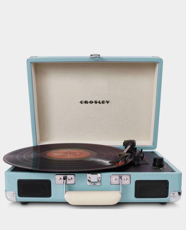 Máy quay đĩa than xách tay của hãng Crosley Mỹ