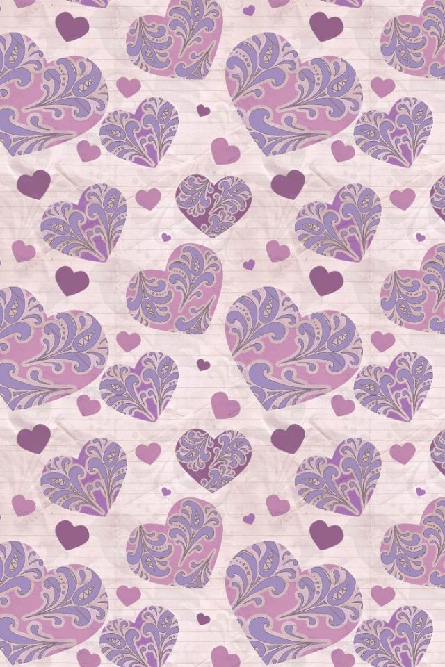 Scrapylicious ♥ : Pattern Hearts Wallpaper.