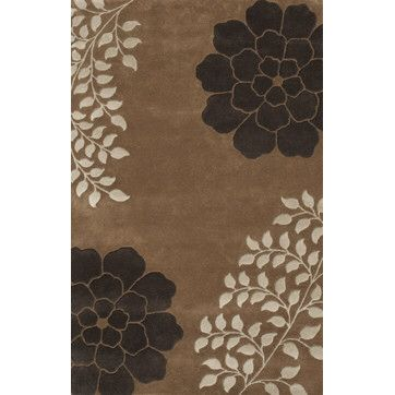 Gardenia Brown Area Rug