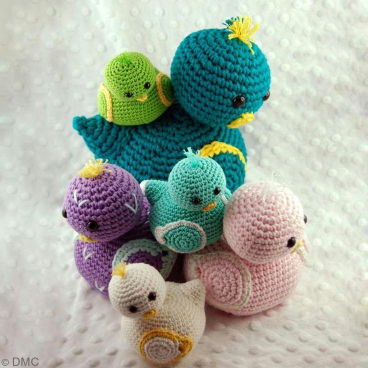 DIY Pajaritos de crochet - El paso a paso