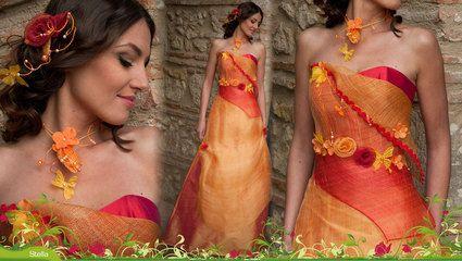 Robe de mariéé originale Elsa Gary Modèle stella collection 2013