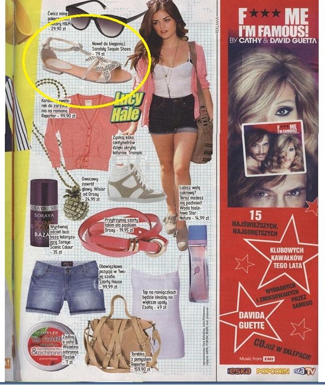 POPCORN MAGAZINE  www.sequinshoes.pl