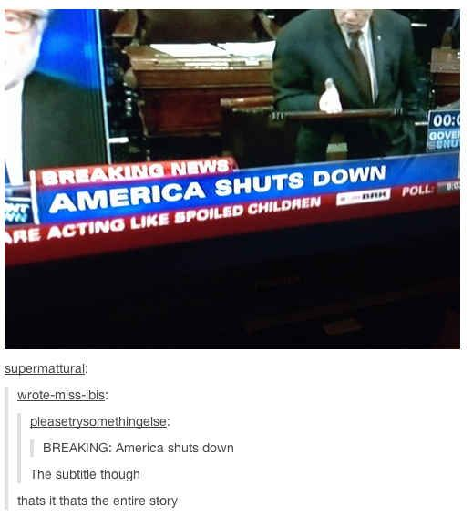 The 21 Best Reactions To The United States Government Shutdown - BuzzFeed Mobile