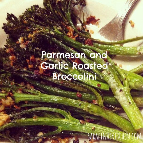 Parmesan and garlic roasted broccolini      Home     Author     Blog     Press     10×40     Shop!     Drop Me ...