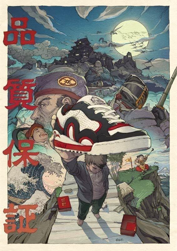 Folio illustration agency, London, UK   Gez Fry Manga ∙ Anime ∙ Comic ∙ Contemporary ∙ Publishing ∙ Advertising Illustrator in COMIC STYLE