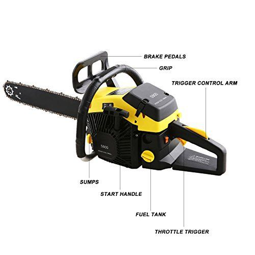 Top 10 Best Gas Chainsaw With Electric Start Product Reviews