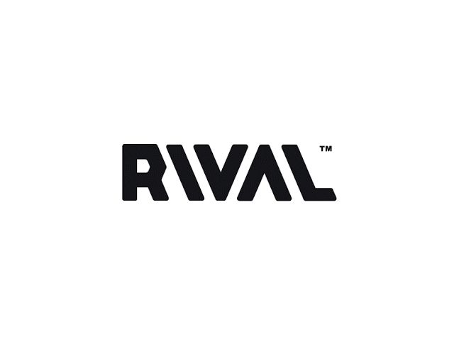 This is a type based design made by a company named Rival Wordmark, this is their branding logo. I like the black and white simplicity of the design.