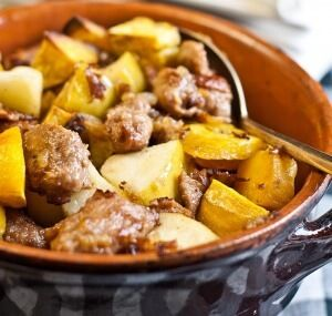 Sausage & Sweet Potato Hash | Wellness Mama