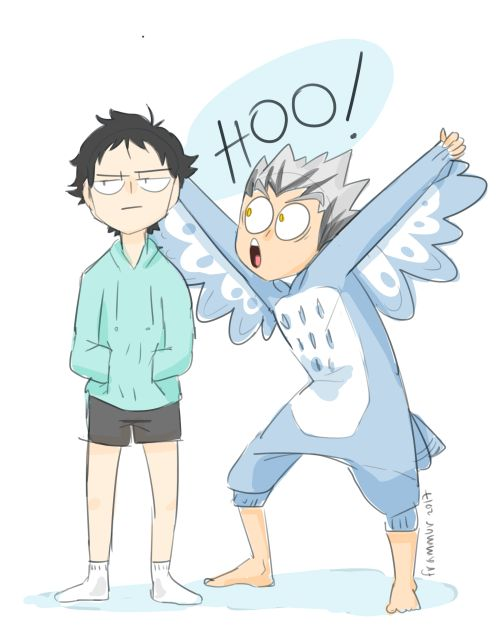 Bokuto and Akaashi's relationship in a nutshell haha