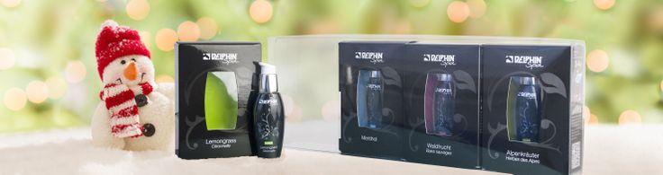 Die neuen DELPHIN Spa-#Saunadüfte sind DAS Geschenk für #Sauna-Fans!
