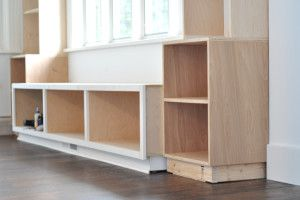 solid wood cabinet construction